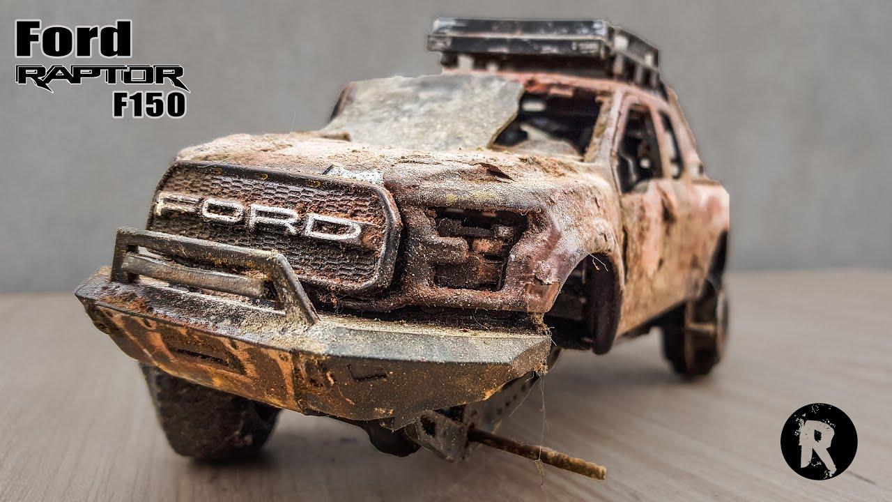 Restoration Pickup Truck Ford Raptor F150 4x4 Abandoned
