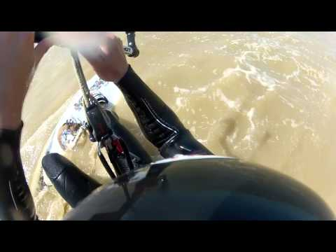 How to kitesurf: Water Start