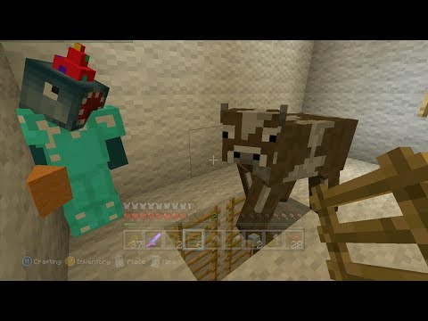 Minecraft Xbox - Quest To Push A Cow (31)