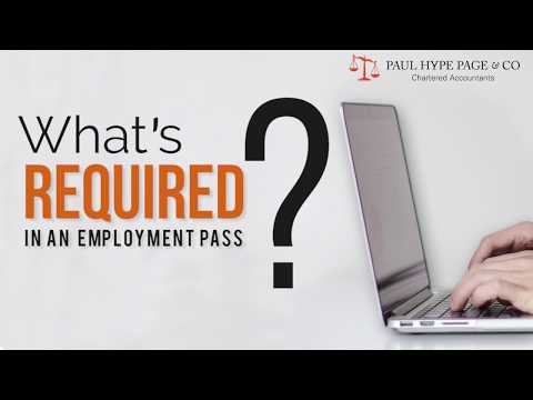 What's Required in Employment Pass Application