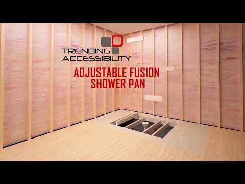 How to Install a Curbless Shower or European Wet Room w/ The Adjustable Fusion Pan Kit
