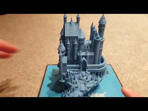 3D Printed Medievil Castle on the Flashforge Finder