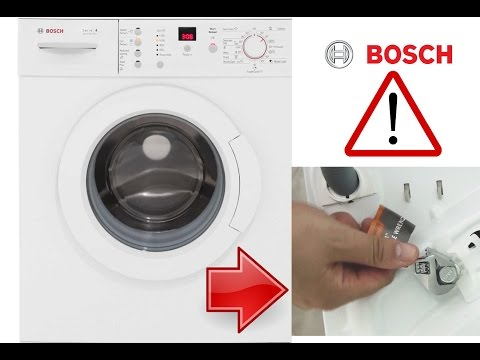 Bosch Serie 4 Washing Machine Installation - Remove Bolts Before 1st Use!