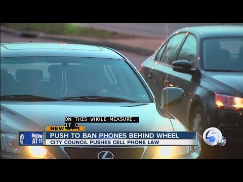 Push to make driving and talking on phone illegal