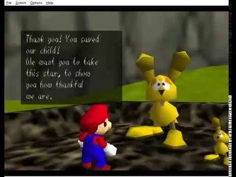 [Outdated] Super Mario 64 : Last Impact - Li'l Rabbit Lost 1xA Press
