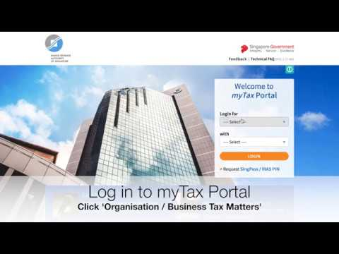 Filing of GST Return (Video Guide) - IRAS