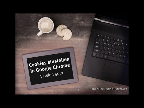 Cookies in Google Chrome einstellen