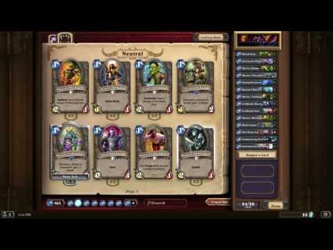 Hearthstone 40 Pack Purchase and Unveil