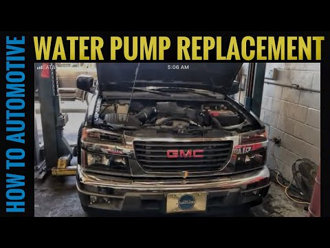 How to Replace the Water Pump on a 2003-2012 Chevy Colorado/GMC Canyon with 2.9L Engine