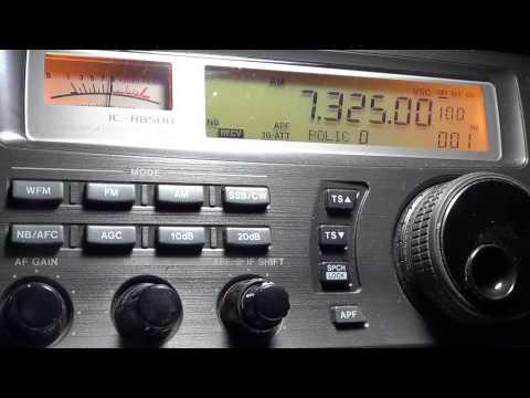BBC Coverage Typhoon Haiyan 7325 Khz 0500 UT