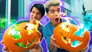 Download DIY RAINBOW FIRE JACKOLANTERN! + IPHONE7 GIVEAWAYS! Video