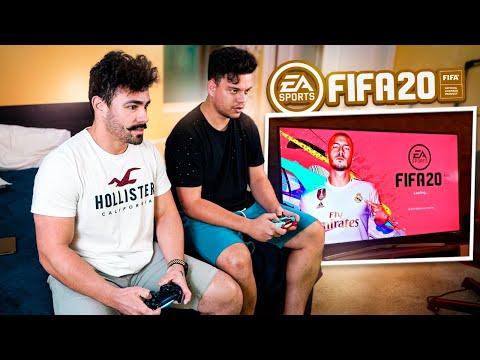 O ESTRANHO ME DESAFIOU NO FIFA 20 ! ‹ PORTUGA ›