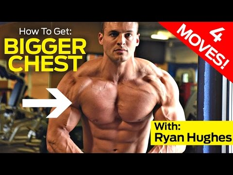 4 Must-Do Chest Exercises For A BIGGER Chest (Muscle Marix Chest Workout)