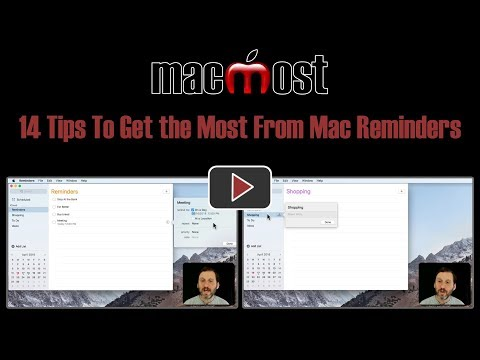 14 Tips To Get the Most From Mac Reminders (#1642)