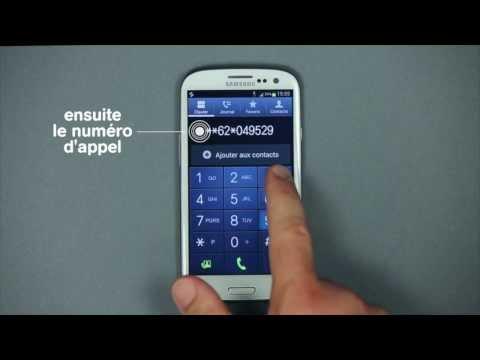 Comment configurer et utiliser Call Forwarding sur Android ? - Mobistar