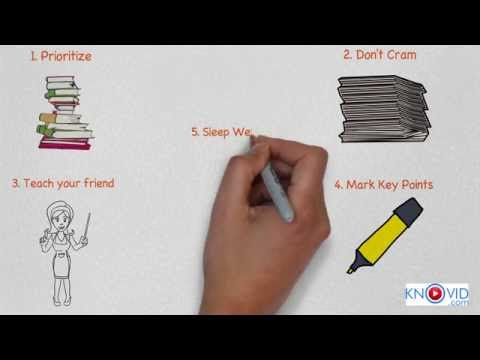 5 Tips to last minute Exam Preparation