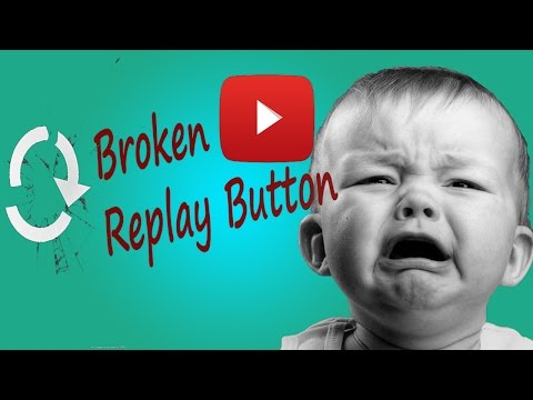 How not to break Youtube Replay Button?