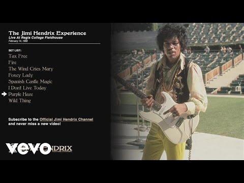 The Jimi Hendrix Experience - Purple Haze - Regis College 1968 (Audio)