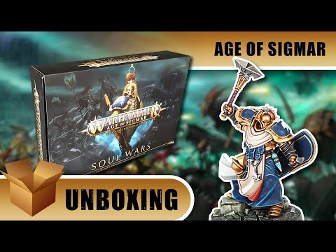 Unboxing: Age of Sigmar - Soul Wars
