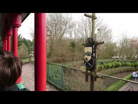 Heartlake City Express Train Ride POV At Legoland, Windsor, UK, March 2017
