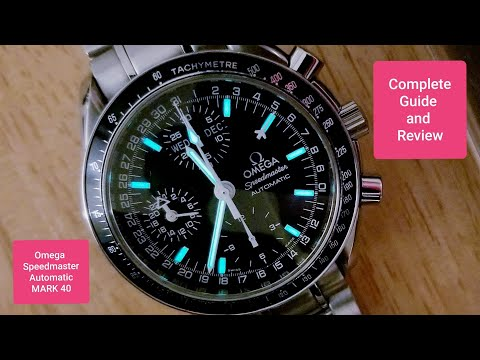 Omega Speedmaster Automatic Mark 40 Complete Guide and Review