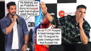 Akshay Kumars Amazing Answer To John Abrahams Rude Comment On Him For Batla House & Mission Clash
