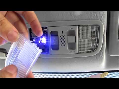 DIY 2008 Honda Civic Coupe Interior and License Plate LED Swap