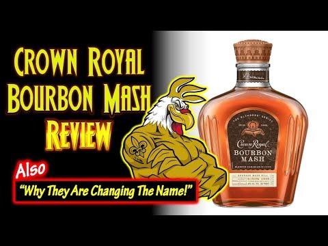 Crown Royal Bourbon Mash Review and