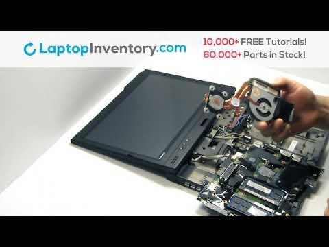 Lenovo ThinkPad X230 Fan Replacement - Heatsink Motherboard Installation Guide Install Laptop T530