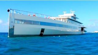 "Ever Seen Steve Jobs MEGAYACHT ""Venus""? Here it is in St Maarten, CARIBBEAN!"