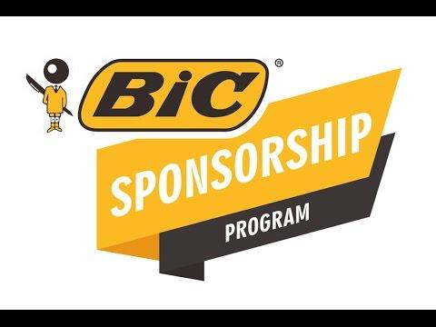 BIC Sponsorship Program 2016 - 2017