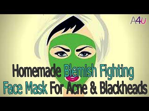 Homemade Blemish Fighting Face Mask For Acne & Blackheads