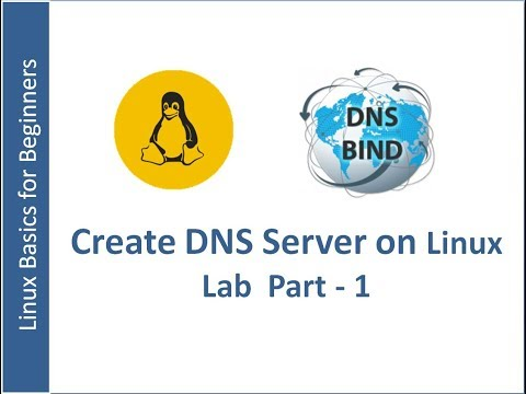 DNS Server Installation and Configuration on RHEL 7  Part -1
