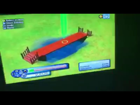 The Sims 3 Tutorials for Xbox 360: How to Build a Bridge Over a Pond