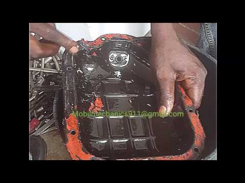 How to change oil and gasket on a 99-07 nissan maxima PT 2