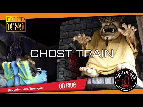 Ghost Train | scary on-ride POV | Blackpool Pleasure Beach 2017 | Geisterbahn | dark ride