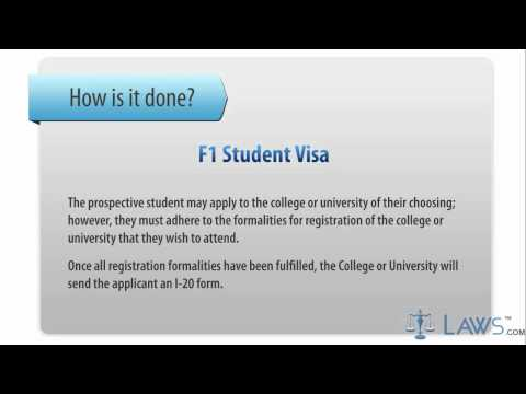 Learn How to Fill the F1 Student Visa Application