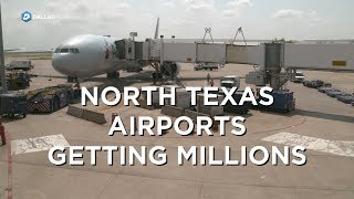 Download U.S. grants millions for airport infrastructure to North Texas Airports Video