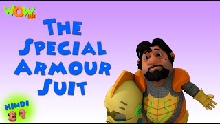 The Special Armour Suit - Motu Patlu in Hindi - 3D Animation Cartoon for Kids -As on Nickelodeon