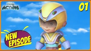 BEST SCENES of VIR THE ROBOT BOY | New Episode | Animated Series For Kids | #01 | WowKidz Action