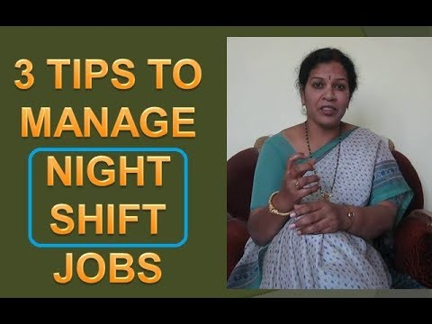 3 Powerful Tips to Handle Night Shift Jobs - In   English
