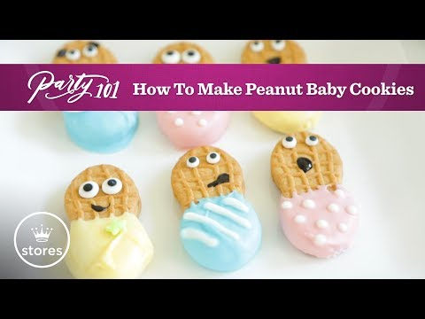 How to Make Peanut Butter Baby Cookies | Party 101