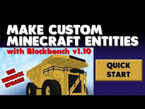 Quick Start - Custom Minecraft Entities with Blockbench 1.10