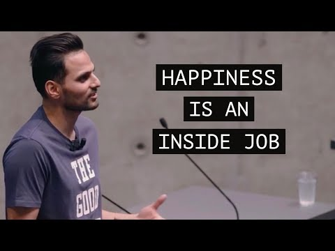 Happiness is an Inside Job - Motivation with Jay Shetty