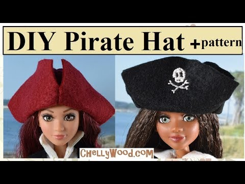 Pirate Hat Pattern and Tutorial