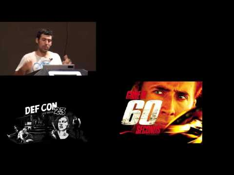 DEF CON 23 - Samy Kamkar - Drive it like you Hacked it: New Attacks and Tools to Wireles