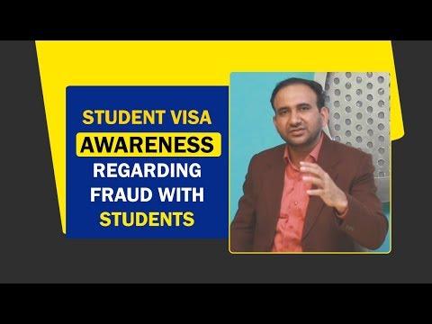 Student Visa Awareness regarding Fraud with Students