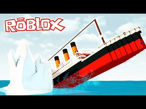 ¡SOBREVIVE AL TITANIC EN ROBLOX! 😱🛳️ ¡CHOCAMOS CONTRA UN ICEBERG!