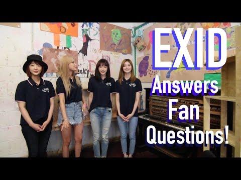 EXID Answers Fan Questions!