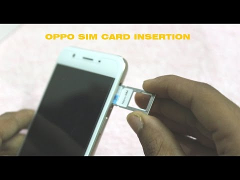 How To Insert Sim Card & Memory Card in oppo F1/F1 Plus/A57/A37